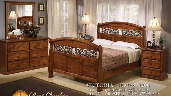 Victoria Series Bed Set